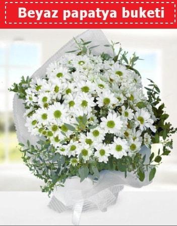Beyaz Papatya Buketi  Malatya güvenli kaliteli hızlı çiçek