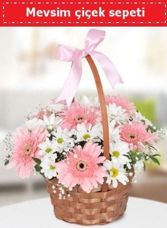 Mevsim kır çiçek sepeti  Malatya internetten çiçek siparişi